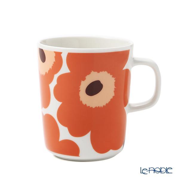 マリメッコ(marimekko) Unikko ウニッコ/けしの花 マグカップ 250ml ホワイ・・・