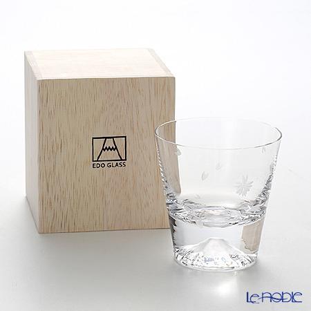 【伝統工芸】田島硝子 富士山グラス TG16-015-RS ロックグラス 桜切子 桜風呂・・・