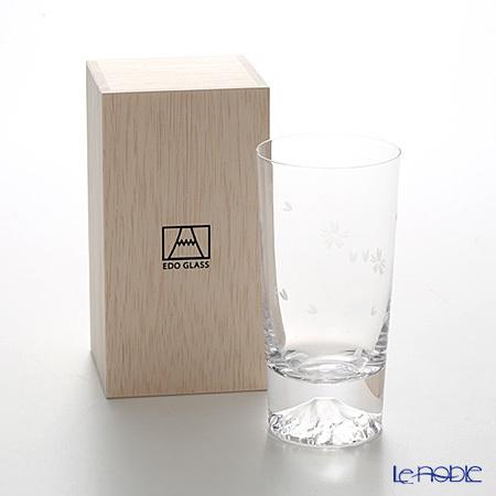 【伝統工芸】田島硝子 富士山グラス TG16-015-TS タンブラー 桜切子 桜風呂敷・・・