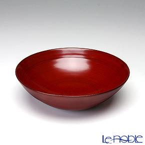 【伝統工芸】輪島塗 総銀朱 盛鉢 15cm B-5-1