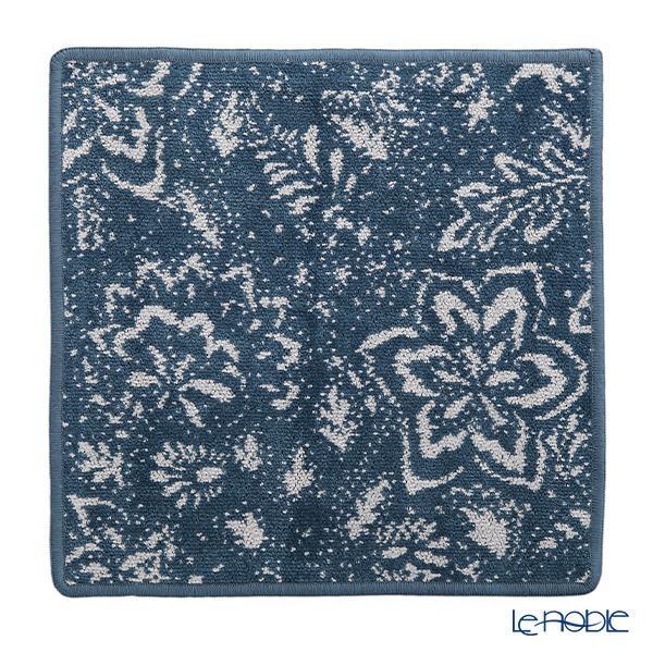 フェイラー ハンドタオル(ハンカチ) インディゴブルーム ブルー 30×30cm