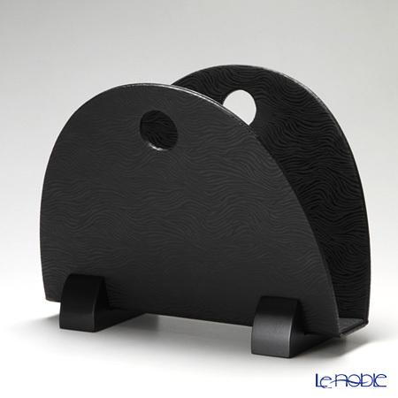 デリア(Deria) マガジンラック ブラック 40×23×32cm GZT42005