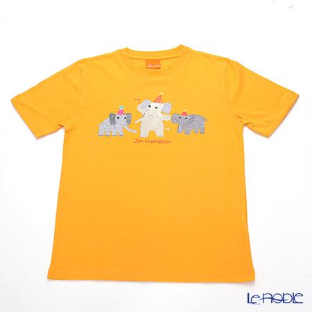 ジムトンプソン 子供服 Tシャツ M(8-11歳) バースデーエリー/オレンジ
