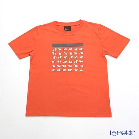 ジムトンプソン 子供服 Tシャツ S(4-7歳) ホワイトゾウ36/オレン・・・