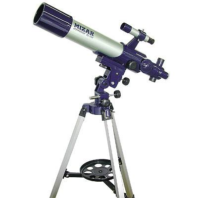 ミザールテック 25~250倍屈折式天体望遠鏡「アストロ&フィールドスコープ」・・・