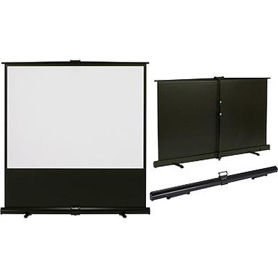 キクチ GRANDVIEW (80インチ16:9)床置き立上げスクリーン GUP-80HDW