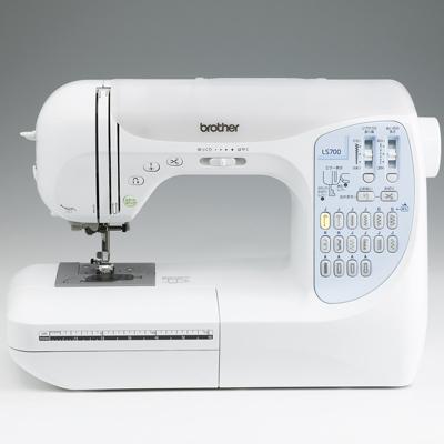 ブラザー ミシン コンピューターミシン LS-700 【代引きOK!カラー糸40色に加・・・