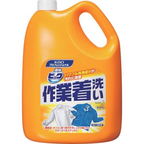 花王 Kao 液体ビック作業着洗い 4.5Kg 507174
