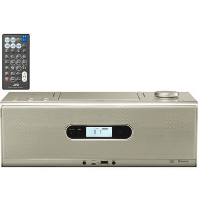 ビクター Bluetooth/NFC機能搭載CDポータブルシステム (RDW1N)(シャンパンゴ・・・
