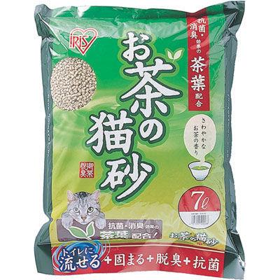 アイリスオーヤマ 【5個セット】お茶の猫砂 OCN-70 【5個セット】7・・・
