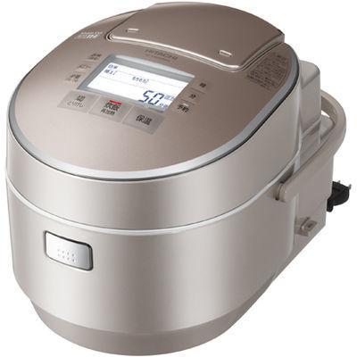 日立 圧力スチームIH炊飯器 5.5合炊き 打込鉄釜 ふっくら御膳(シャンパン) (T・・・