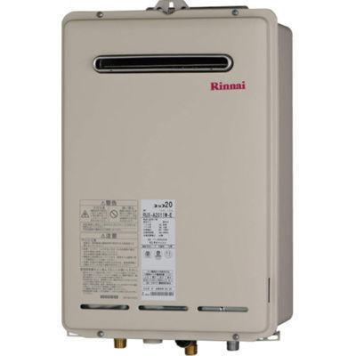 リンナイ 16号 屋外壁掛型 ガス給湯器 RUX-A1611W-E-13A 12A/13A用(23-8261・・・