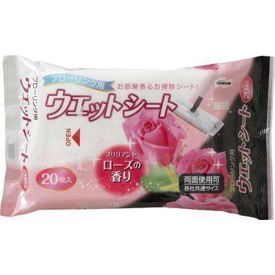 山崎産業 コンドル フローリング用ウェットシート ブリリアントローズの香り ・・・