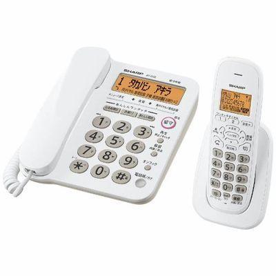 シャープ デジタルコードレス電話機(子機1台) ホワイト系 JD-G32C・・・