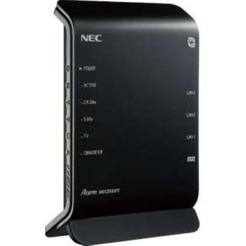 NEC 7 ムセンルータ PA-WG1200HP3-G86