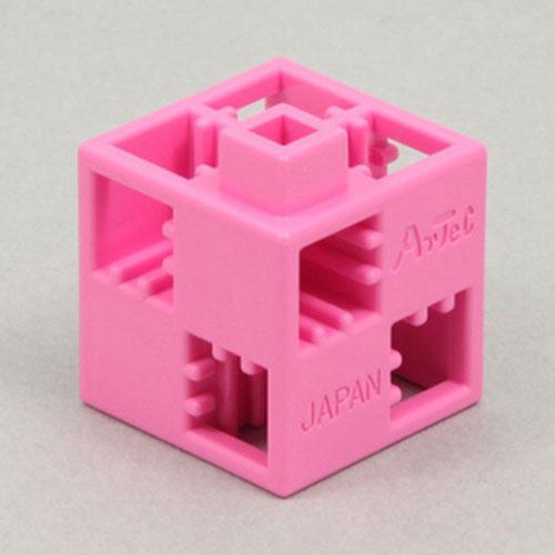 【アーテック】Artecブロック 基本四角 24P ピンク ※お取り寄せ・・・