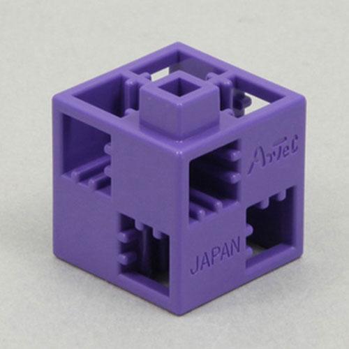 【アーテック】Artecブロック 基本四角 24P 紫 ※お取り寄せ商品・・・