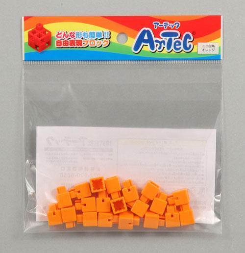 【アーテック】Artecブロック ミニ四角 20P オレンジ ※お取り寄・・・