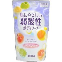 【エオリア】弱酸性ボディソープ フルーティフローラルの香り 詰替用 40・・・