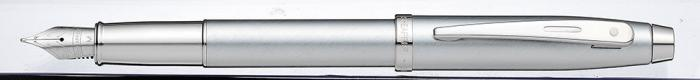 【シェーファー】シェーファー100 ブラッシュトクローム N09306 万年筆 M(中・・・