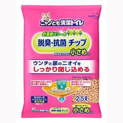 【花王】ニャンとも清潔トイレ チップ 小さめの粒 (2.5L) ※お取り寄せ商品