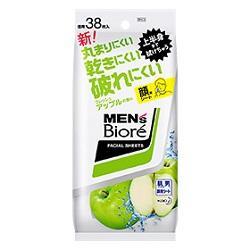 【花王】メンズビオレ 洗顔シート フレッシュアップルの香り 卓上用 38・・・