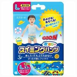 グーン スイミングパンツ 男の子用 Lサイズ 3枚 製品画像