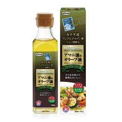 【日本製粉】アマニ油&オリーブ油 186g ※お取り寄せ商品