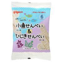 【ピジョン】元気アップカルシウム 小魚せんべい&ひじきせんべい 2枚×4・・・
