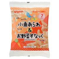 【ピジョン】元気アップカルシウム 小魚あられ&お野菜すなっく 7g×4袋・・・