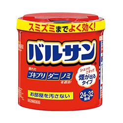 【第2類医薬品】【ライオン】新バルサンSPジェット24~32畳(赤) 80g ※・・・