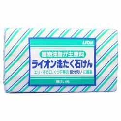 【ライオン】ライオン 洗たく石けん1コ包 220g ※お取り寄せ商品【K・・・