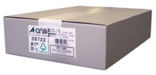 【エーワン】パソコンプリンタ&ワープロラベルシール 28722 ホワイト プリン・・・