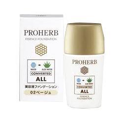 【岐阜アグリフーズ】プロハーブ 美容液 ファンデーション02 ベージュ ・・・