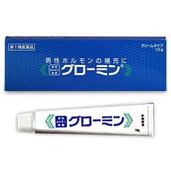 【第1類医薬品】【大東製薬】男性ホルモン軟膏 グローミン 10g (性機能改善・・・