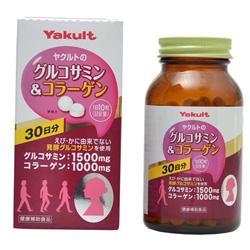 【ヤクルトヘルスフーズ】グルコサミン&コラーゲン 300粒 ※お取り寄せ・・・
