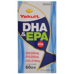 【ヤクルトヘルスフーズ】DHA&EPA 500 300粒 ※お取り寄せ商・・・
