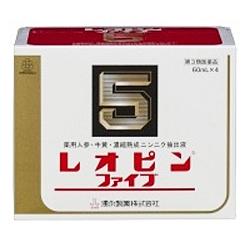 【第3類医薬品】【湧永製薬】レオピンファイブw 60ml×4本入 ※お取り寄せになる場合もございます 商品画像1:メディストック カーゴ店
