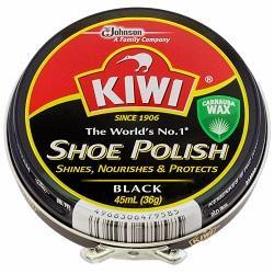 【KIWI】キィウイ 缶入油性靴クリーム 中缶・黒(45ml) ※お取り寄せ商品