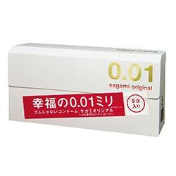 【相模ゴム工業】サガミオリジナル 001 5コ入 ※お取り寄せ商品 商品画像1:メディストック カーゴ店