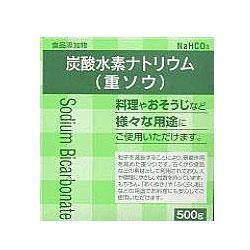 【大洋製薬】炭酸水素ナトリウム(重曹) 500g ※お取り寄せ商品