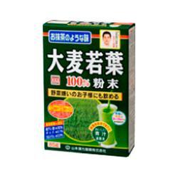 【山本漢方】大麦若葉粉末100% 85g ※お取り寄せ商品