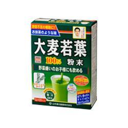 【山本漢方】大麦若葉粉末100%スティックタイプ 3g*22包 ※お取り寄・・・