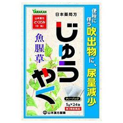 【第3類医薬品】【山本漢方製薬】日本薬局方 じゅうやく 5g×24包 ※お・・・