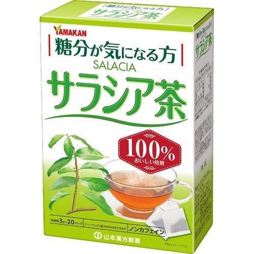 【山本漢方製薬】サラシア茶100% 3g×20包 ※お取り寄せ商品