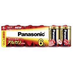 【パナソニック】アルカリ乾電池単一形6本入り【シュリンク包装】LR20XJ・・・