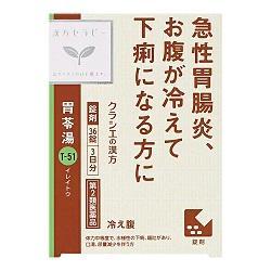 【第2類医薬品】【クラシエ薬品】漢方セラピー 胃苓湯エキスEX錠クラシエ・・・