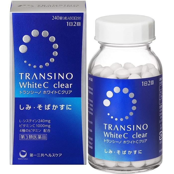 【第3類医薬品】【第一三共ヘルスケア】トランシーノ ホワイトCクリア 240錠