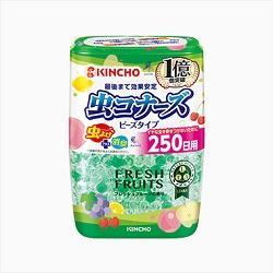 【大日本除虫菊】虫コナーズ ビーズタイプ 250日用 フレッシュフルーツ・・・