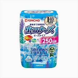 【大日本除虫菊】虫コナーズ ビーズタイプ 250日用 シベリアンフォエス・・・